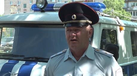 Майор полиции Владимир Поварчук Фото с сайта Управления МВД по Приморскому краю