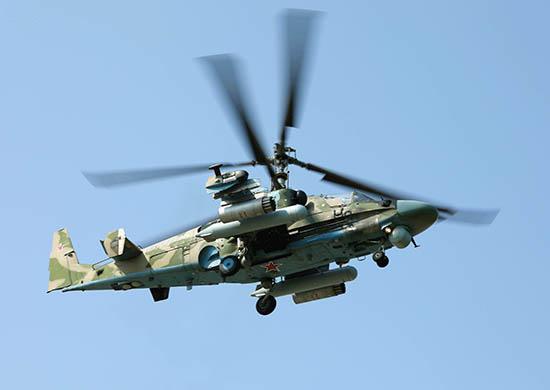 Вертолет Ка-52. Фотография с сайта Минобороны России