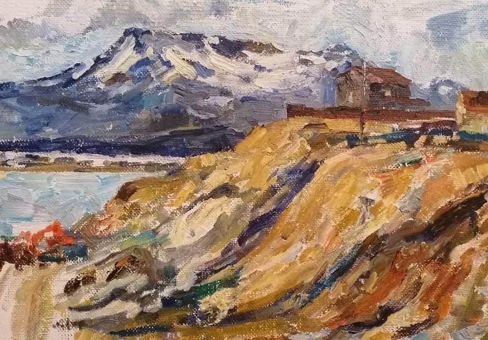 Фрагмент работы Анны Копытиной