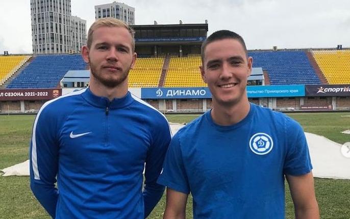 Роман Пухов (слева) и Даниил Гусевский